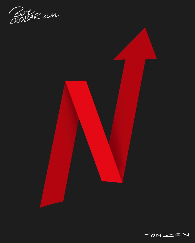 L'action Netflix monte en Bourse, malgré la peur du coronavirus qui fait paniquer les marchés