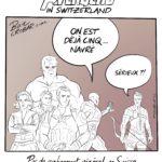Coronavirus: pas de confinement général en Suisse, les groupes de plus de 5 personnes amendés