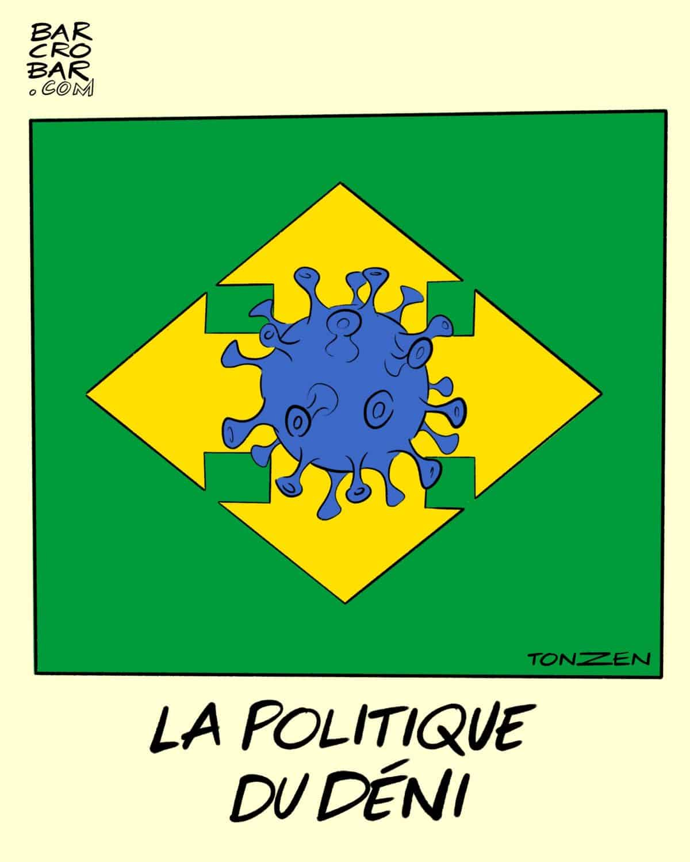 La légèreté avec laquelle ce «cinglé» de Bolsonaro traite le Covid-19 au Brésil exaspère tout le monde