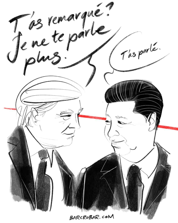 Donald Trump ne veut plus parler à Xi Jinping « pour le moment »