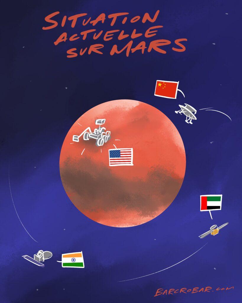 Sonde sur Mars, astronautes sur la Lune... Pourquoi la Chine tient tant à remporter la course à l'espace