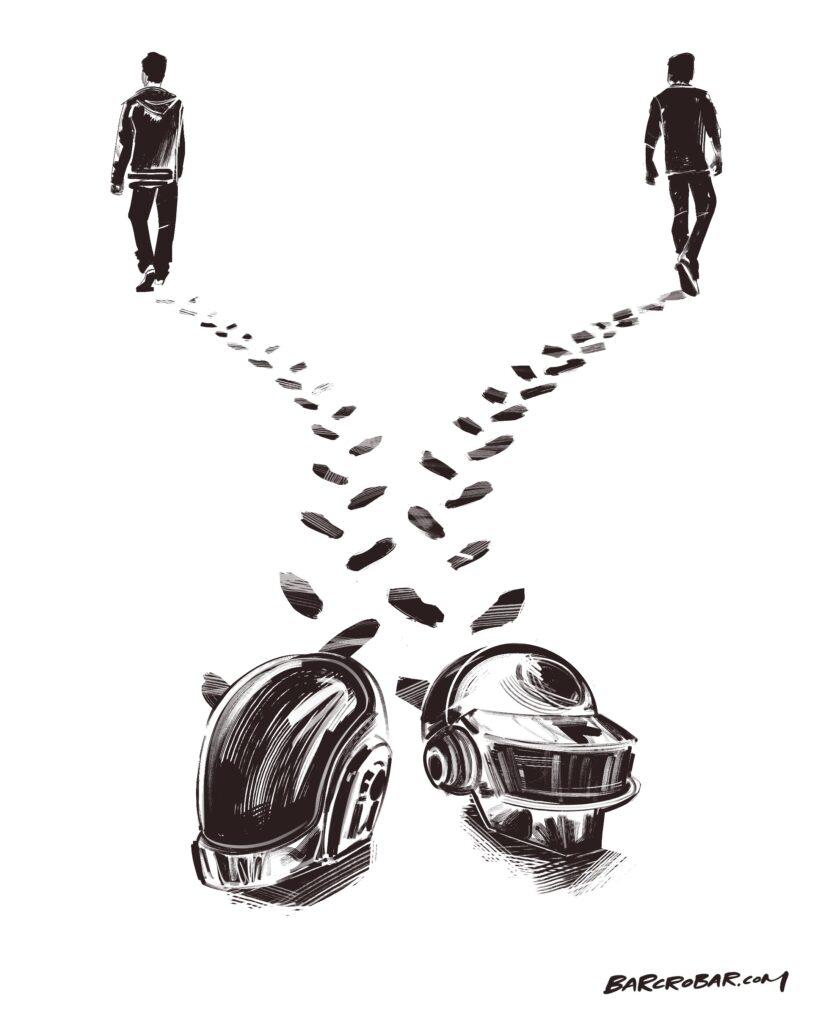 Daft Punk se sépare mais les fans ont bien du mal à y croire
