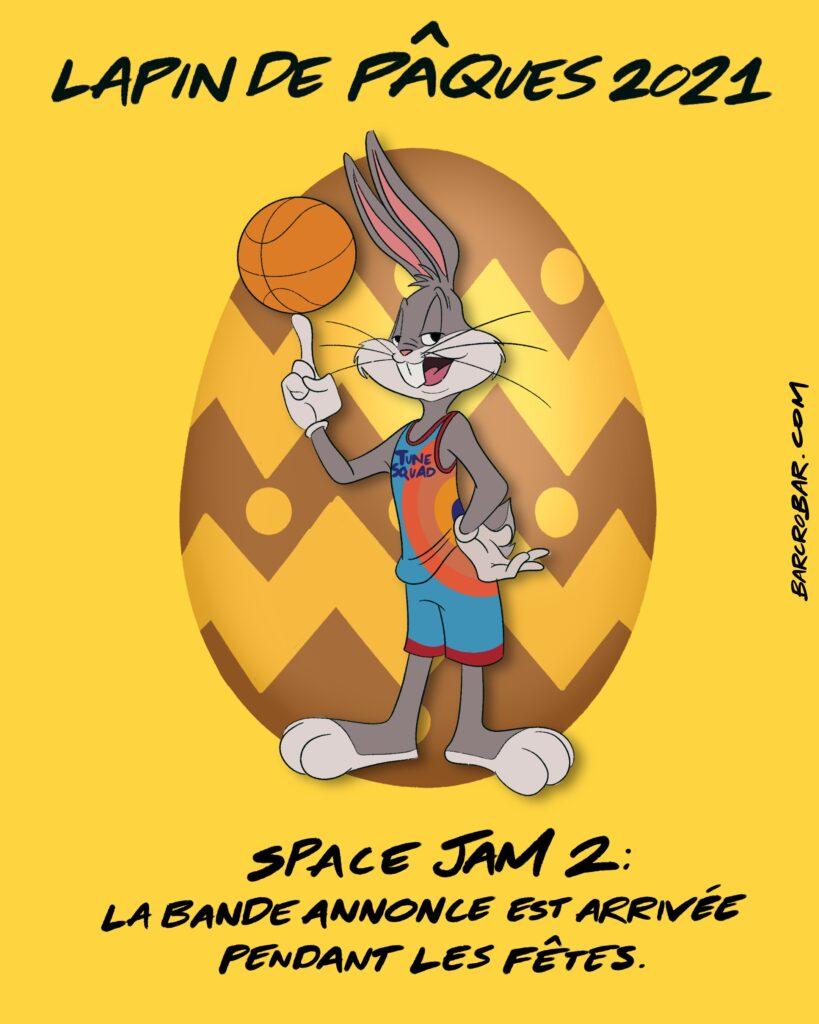 Bande-annonce Space Jam 2 : LeBron James, Bugs Bunny et les Toons jouent au basket
