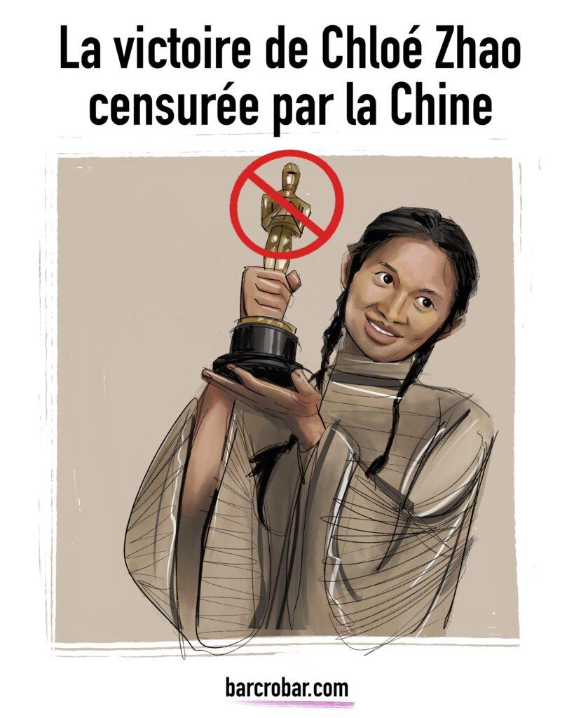 La victoire de Chloé Zhao censurée par la Chine