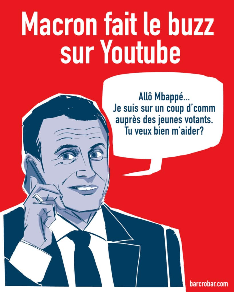 McFly et Carlito : Emmanuel Macron déjà en campagne sur Youtube