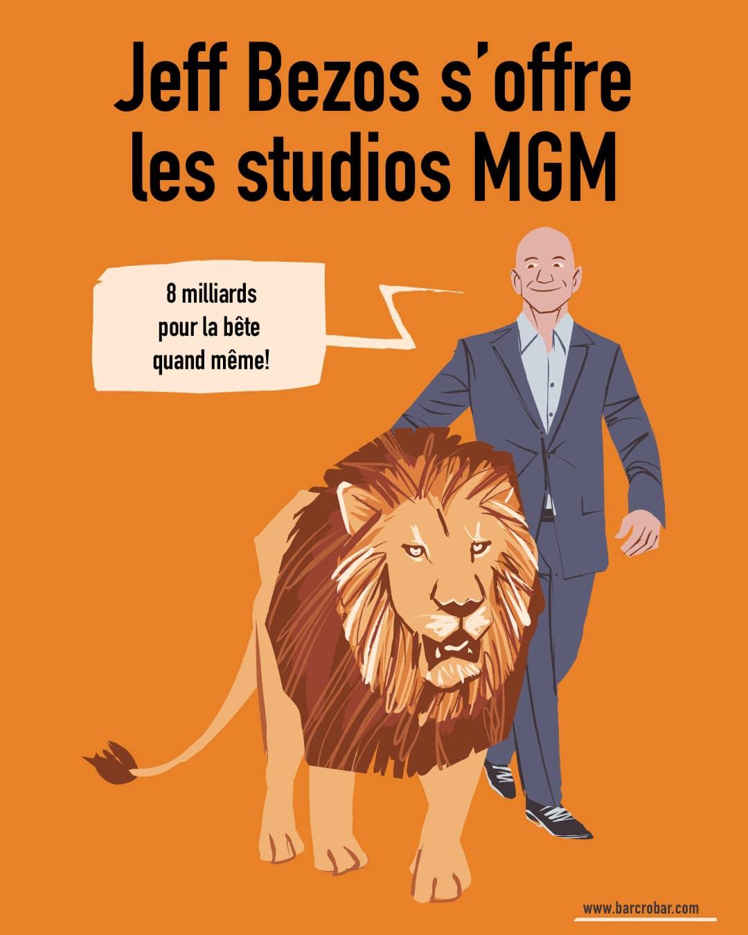 Amazon s'offre le mythique studio de James Bond, MGM, pour concurrencer Netflix