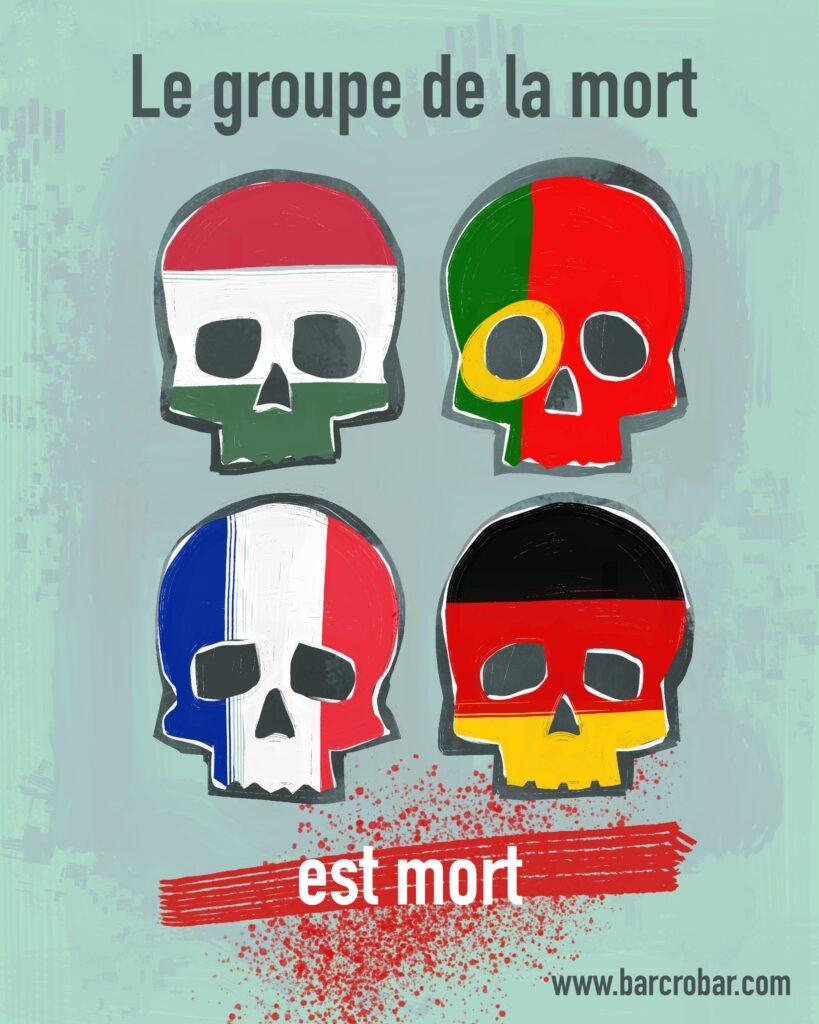 COMMENTAIRE. Euro 2021 : France, Portugal, Allemagne… le groupe de la mort a tué les cadors