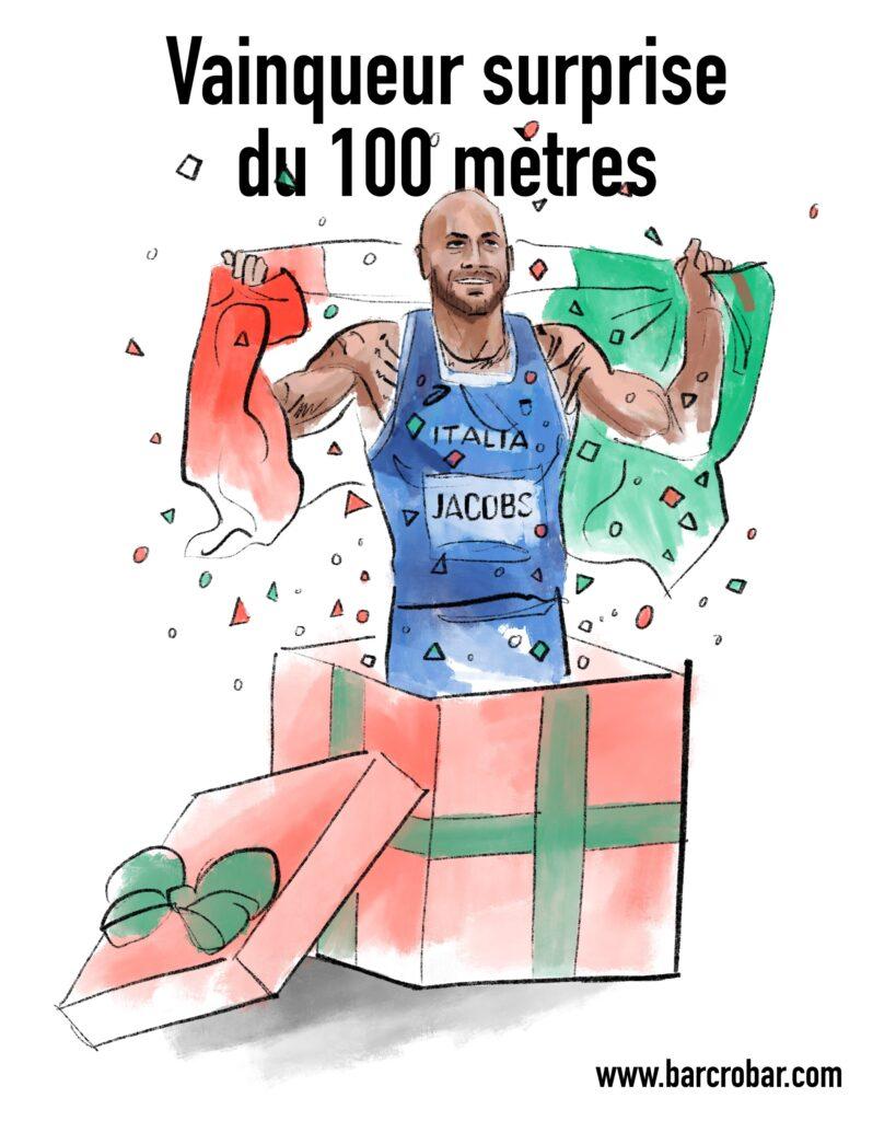 JO de Tokyo : vainqueur surprise du 100 mètres, Jacobs pense «avoir besoin de quatre ou cinq ans pour réaliser»