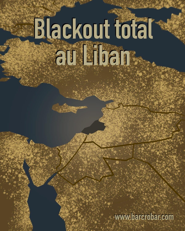 Le Liban victime d'une coupure de courant depuis samedi